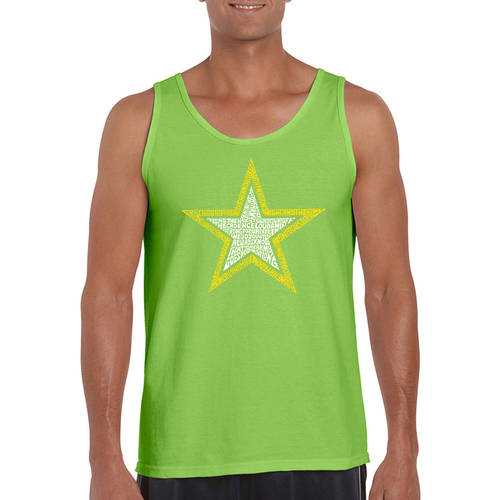 Los Angeles Pop Art Men's Tank Top - Army Song