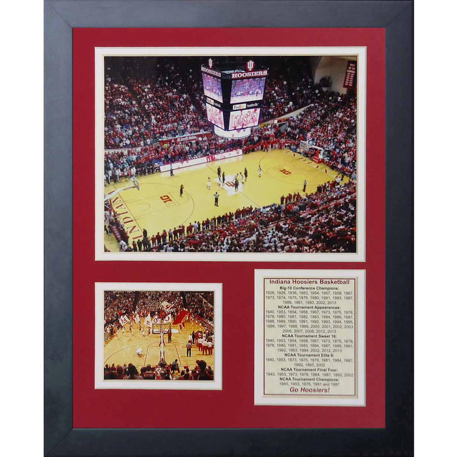 """Legends Never Die University of Indiana Assembly Hall Collage Photo Frame, 11"""" x 14"""""""