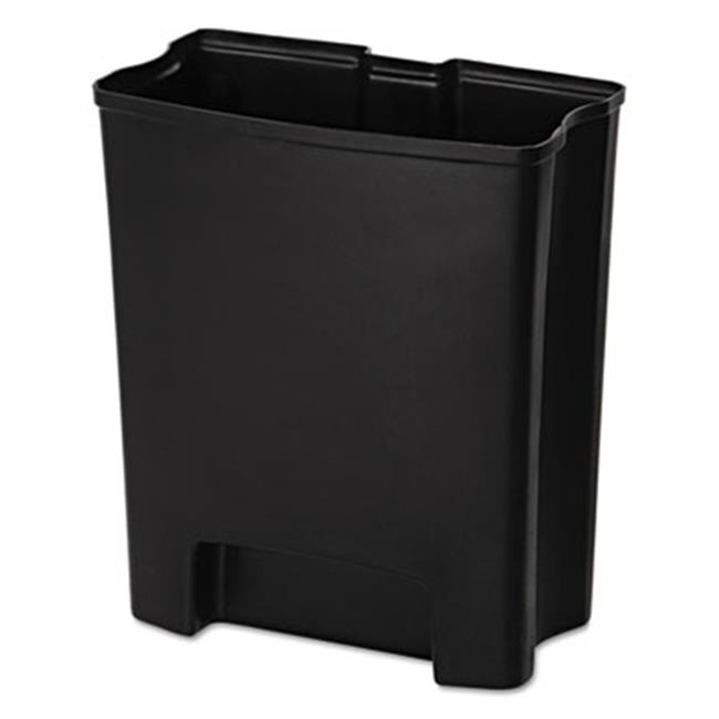 Rubbermaid Commercial 1883625 18 gal. Step-On Rigid Liner For Resin End Step - Black