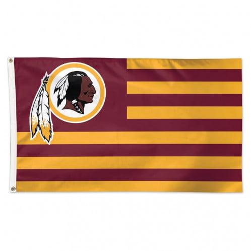 Washington Redskins Flag 3x5 Deluxe Americana Design