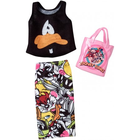 Barbie Complete Looks Looney Tunes Daffy Duck Top & Character Skirt](Barbie Fairytopia Characters)