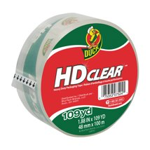 Adhesive Tape: Duck Tape HD Clear Packing