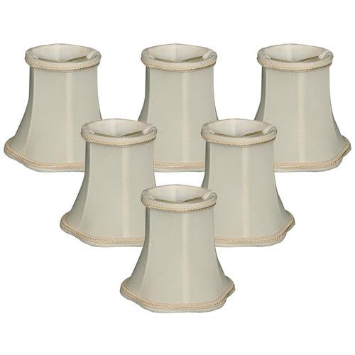 Alcott Hill 5 Shantung Bell Candelabra Shade Set Of 6 Walmart Com Walmart Com