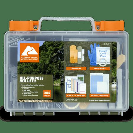 Ozark Trail 205 Piece First Aid Kit