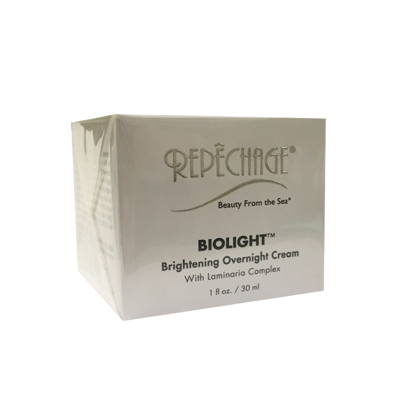 Repechage Biolight Brightening Overnight Cream  1oz    30ml Rugby Acne Medication 5, Benzoyl Peroxide 5%, 1 Ounce Lotion Per Pack