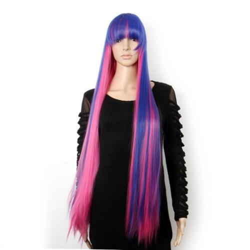 BMC Mix Color Halloween Costume Cosplay Party Synthetic Faux Hair Wig - Set 5