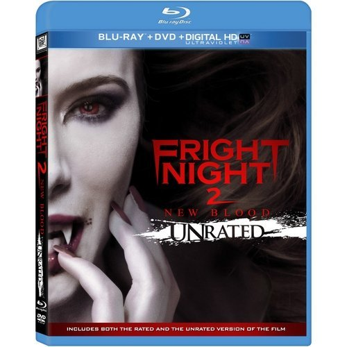 Fright Night 2 (Unrated) (Blu-ray + DVD + Digital HD) (With INSTAWATCH) (Widescreen)