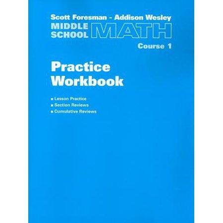 Middle School Math Practice Workbook, Course 1