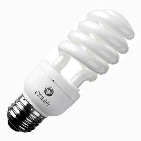 Ballast Bulb (OttLite 00347 - 15ED420  15W EDISON BASE SELF BALLAST SWIRL CFL Twist Medium Screw Base Compact Fluorescent Light Bulb)