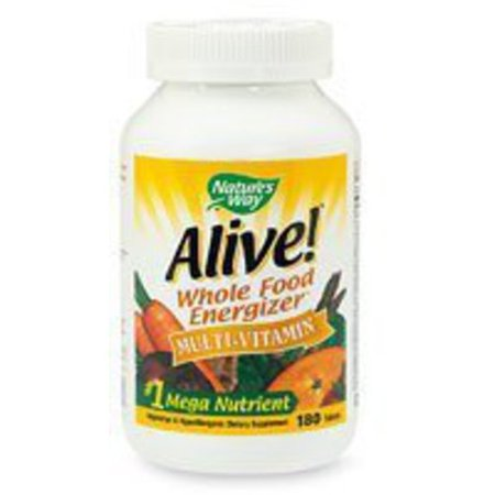 Nature's Way Alive! Max Potency Multivitamin Tablets, 180 Ct