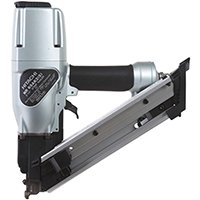Hitachi Strap-Tite Pneumatic Fastening Nailer, 22 Nails, 1-1/2 - 2-1/2 in Paper Strip Collated Nail, 80 - 120 psi ()
