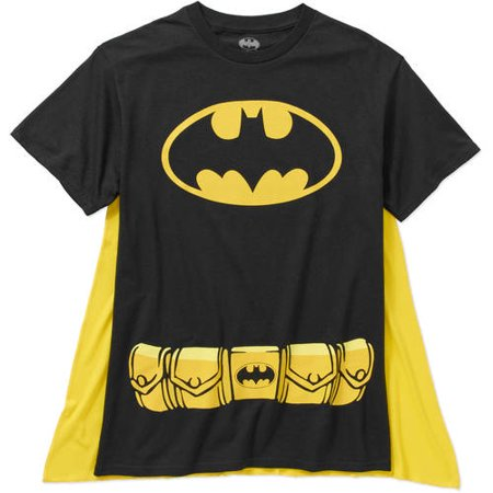 Batman Logo Belt Caped T Shirt