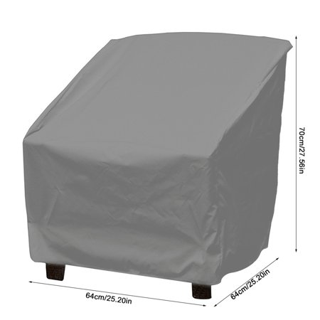 Rdeghly Waterproof Dust-proof Furniture Chair Sofa Cover Protection Garden Patio Outdoor, Sofa Protection, Waterproof Furniture Cover - image 2 of 8