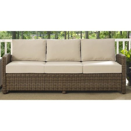 Crosley Bradenton Outdoor Sofa In Sand