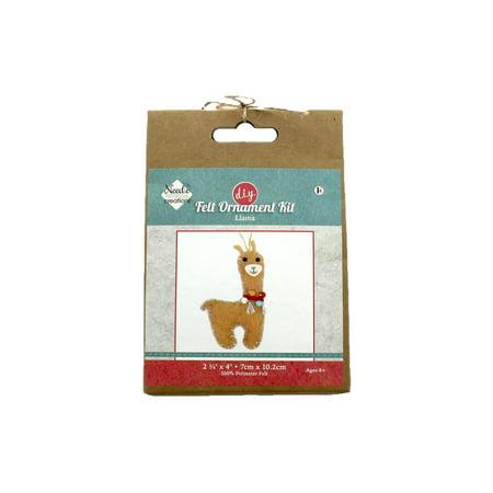 Needle Creations Kit Felt Ornament Llama (Needle Felted Mouse)
