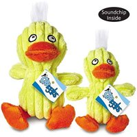 Quacklings Plush Duck Character Dog Toys Quacking Ducks Soundchip - Choose Size