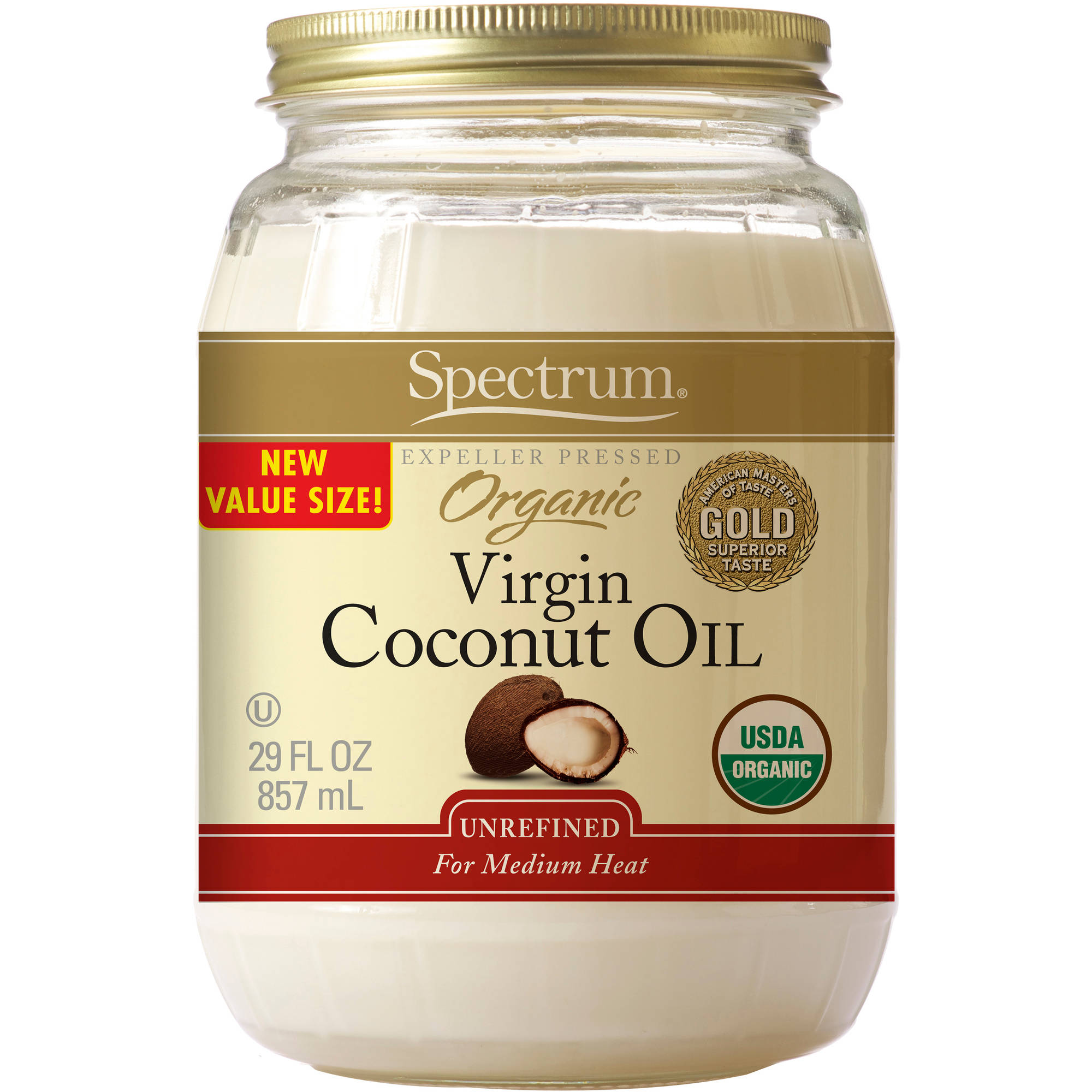 Spectrum Organic Virgin Coconut Oil, 29 fl oz