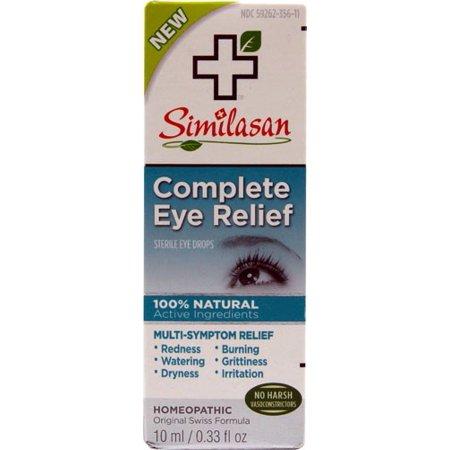- Similasan Complete Relief Eye Drops, 0.33 Oz