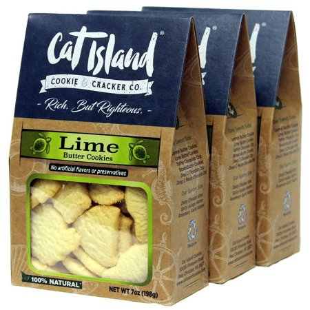 Lime Orange Butter (Lime Butter Cookies - 3 Pack. Distinctly sub-
