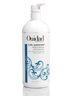 ($70 Value) OUIDAD Tight Curls Curl Quencher Moisturizing Styling Gel 33.8oz/1L