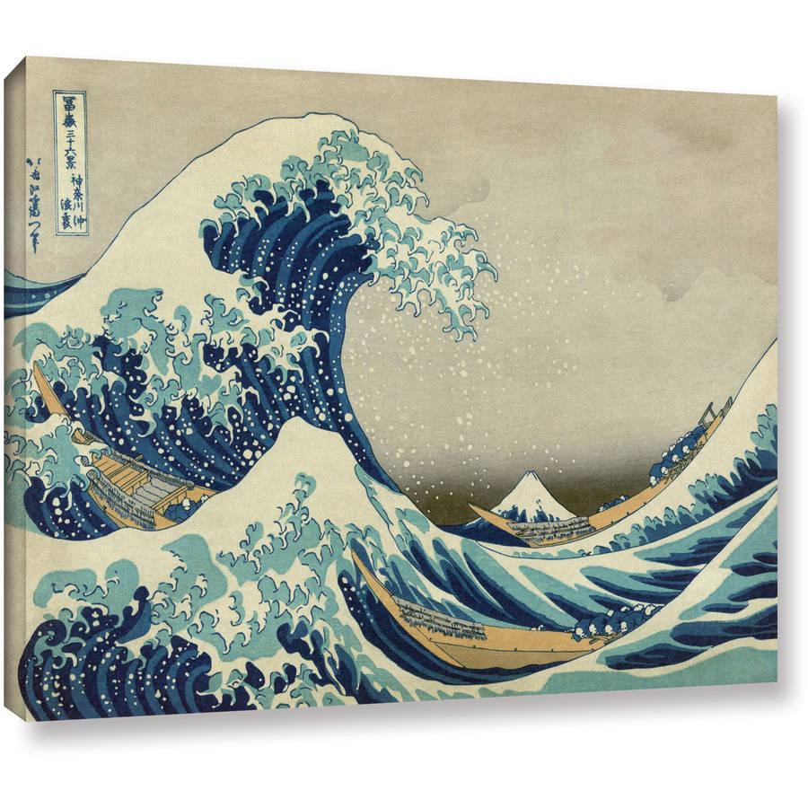 "Katsushika Hokusai ""The Great Wave Of Kanagawa"" Gallery-Wrapped Canvas"