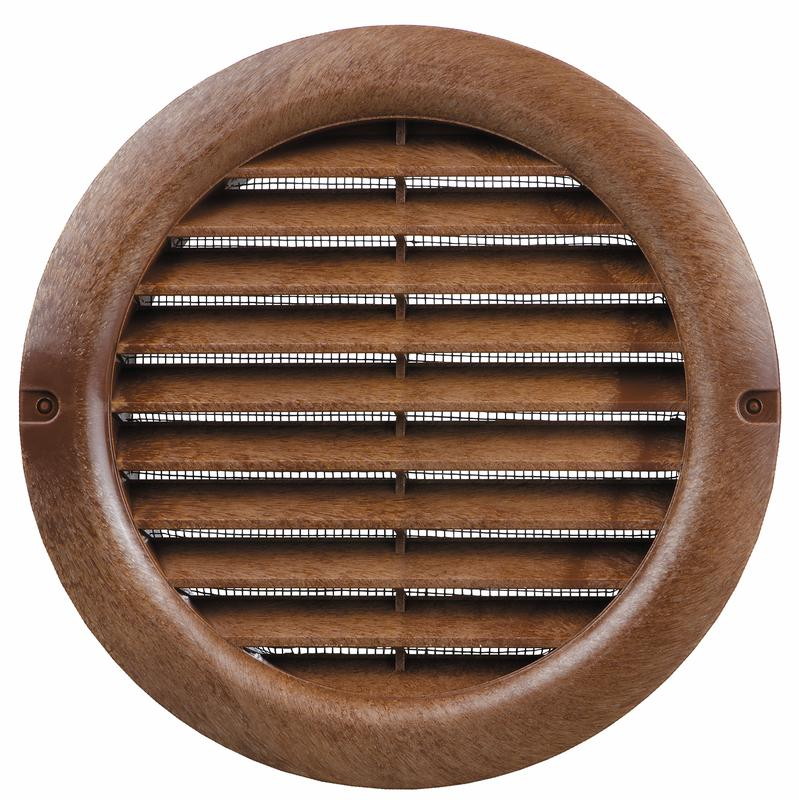 "Plastic Round Vent Cover 4"" Duct (2-Pack)"