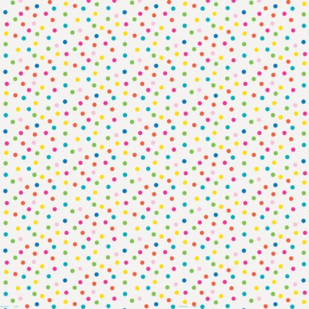 Polka Dot Paper (Colorful Polka Dot Wrapping)