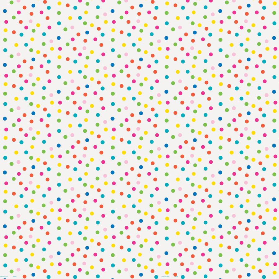 Colorful Polka Dot Wrapping Paper