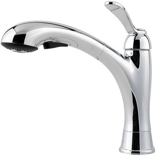 Pfister Marielle Kitchen Faucet with 2 Function Pullout Spray, Available in Various Colors by Price-Pfister