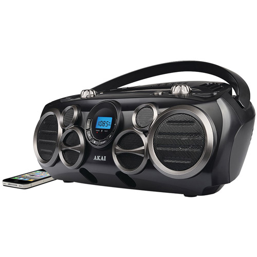 Akai Bluetooth CD Boombox Am/fm Digital Read Out With 6 Speakers