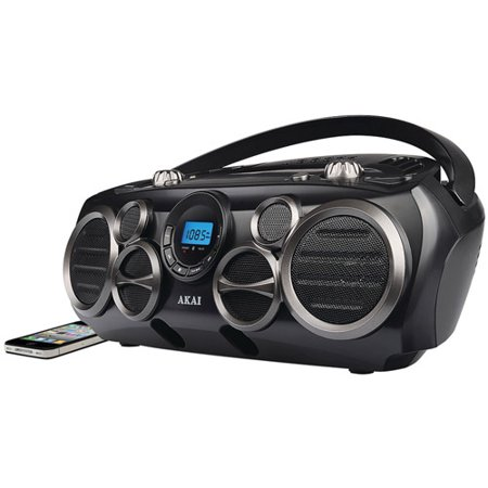 Image of Akai Bluetooth CD Boombox Am/fm Digital Read Out With 6 Speakers