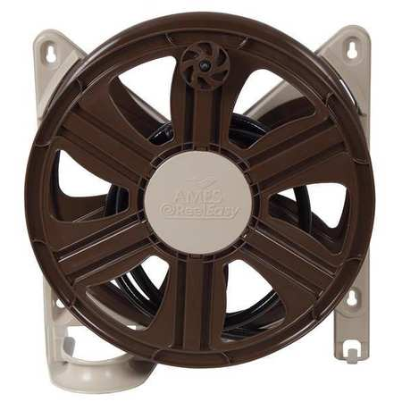 AMES 2388340 Wall Mount Hose Reel, Polypropylene