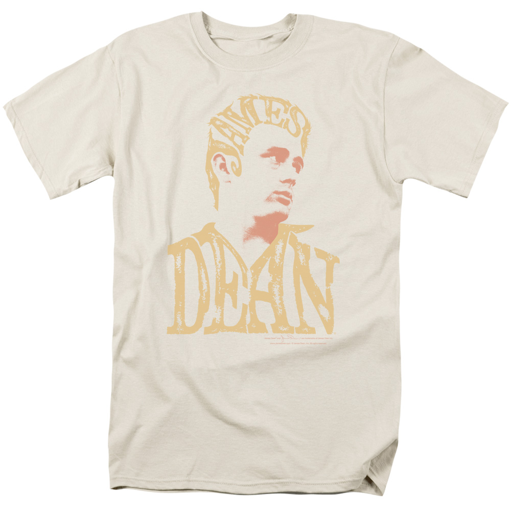 Trevco DEAN WORD HEAD Cream Adult Unisex T-Shirt