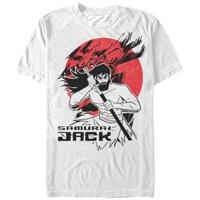 Samurai Jack Men's - Samurai Jack Katana Circle T-Shirt