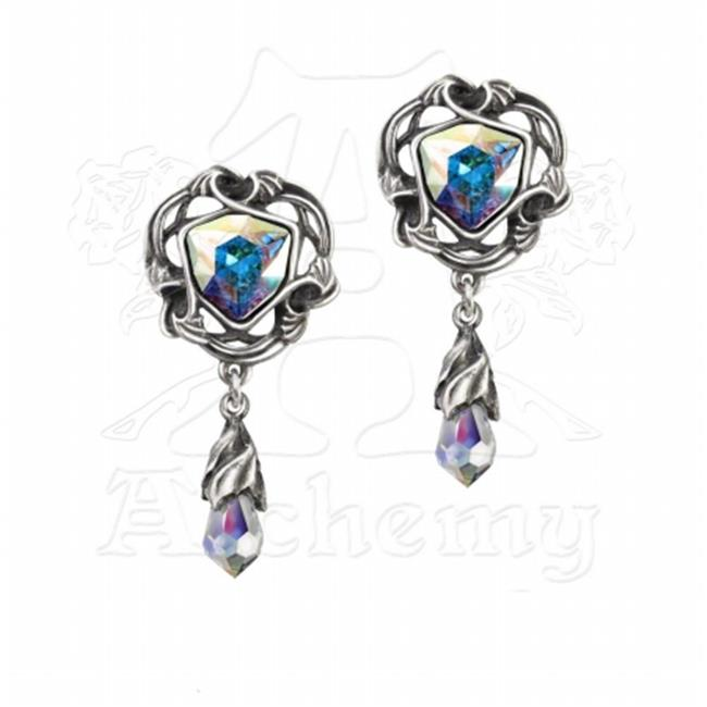 Alchemy Gothic E350 Empyrian Eye - Tears From Heaven Earrings - image 1 of 1