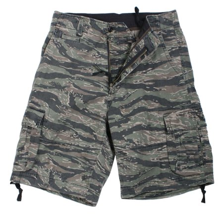 Rothco Vintage Infantry Utility Shorts, Tiger Stripe
