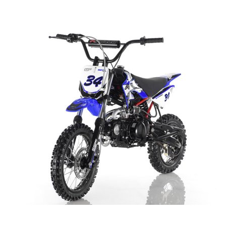 Magnificent Blue Apollo Db 35 125Cc Manual Clutch Dirt Bike 4 Stroke Air Cooled Onthecornerstone Fun Painted Chair Ideas Images Onthecornerstoneorg