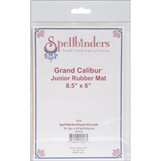 "Spellbinders Grand Calibur Junior Rubber Mat 8-1/2"" x 6"""