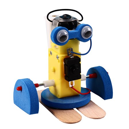 Mini DIY Assembly Ming Crawling Robot Kit Science Technology Toy Specification:as shown - image 3 of 5