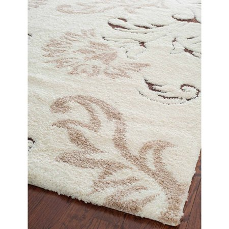 Florida College Rug - Safavieh Florida Garnet Floral Shag Area Rug or Runner