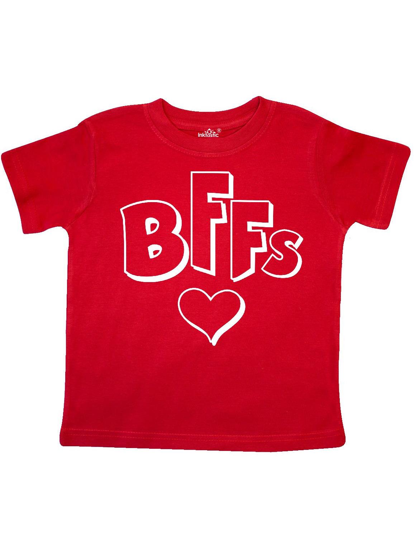 BFFs- best friends forever heart Toddler T-Shirt