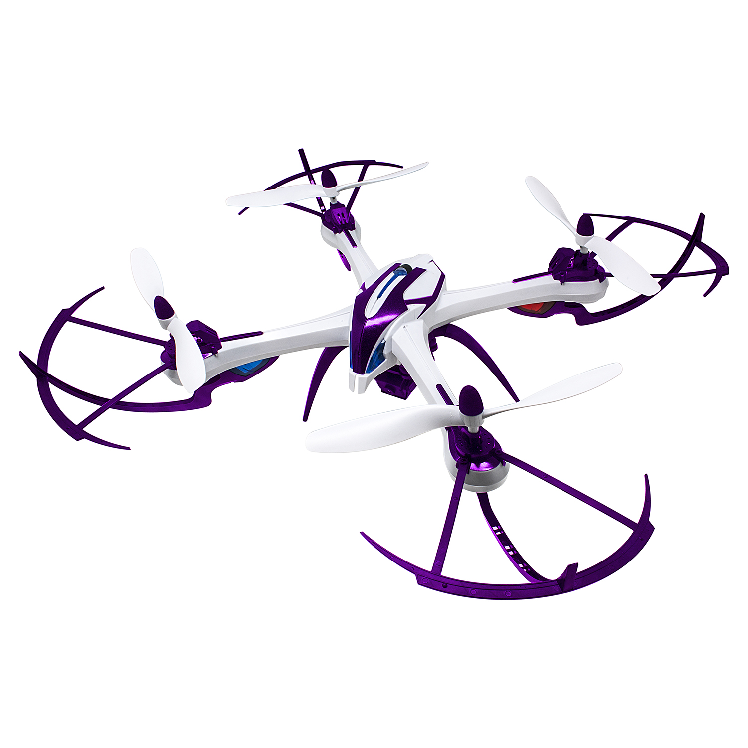 Aerial Quadrone Sentinel Drone Toy with 5MP Camera with 360° Turns/Flips/Rolls by DGL
