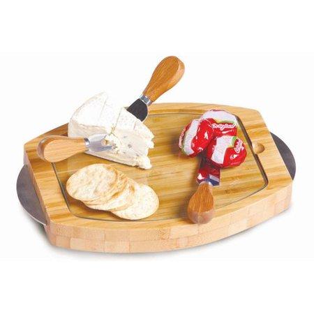 Picnic Plus 4 Piece (Picnic Plus Cambria 4 Piece Cheese Board and Platter Set )
