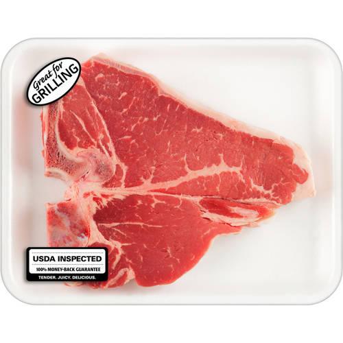 Beef T-Bone Steak 0.6-1.25 lb
