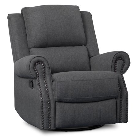 Delta Children Drake Nursery Glider Swivel Recliner,