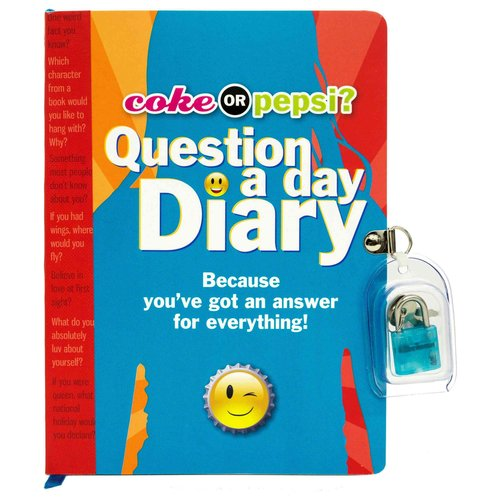 Coke or Pepsi? Question a Day Diary: Because You've Got an Answer for Everything!