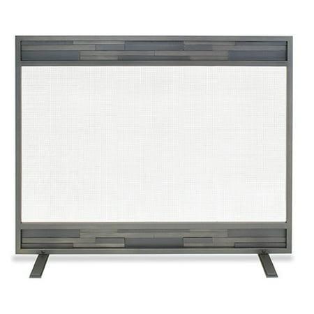 Pilgrim Hearth Lanier Single Panel Iron Fireplace Screen