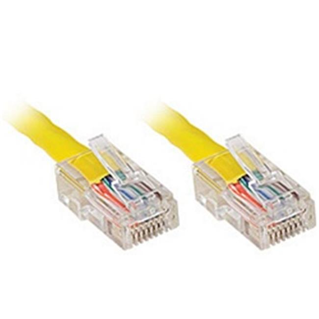 Generic 119 5257 CAT5e Patch Cable, 1ft, Yellow