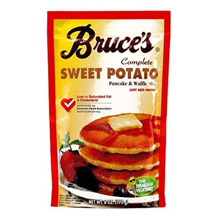 Bruce's Sweet Potato Pancake Mix (3 Items Per Order)