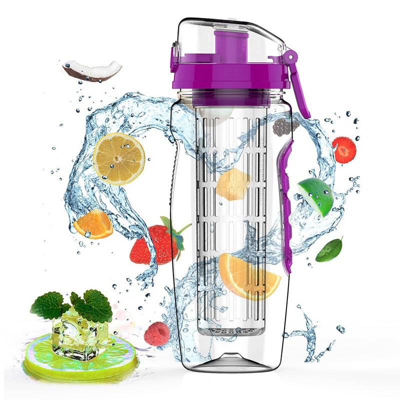 Fruit Infusion Infusing Infuser Water Bottle Sports Health Maker Fashion Design